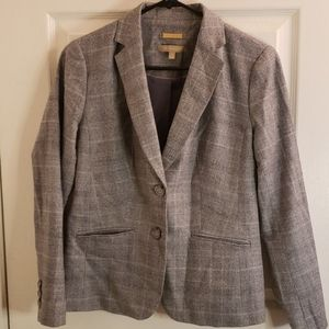 Talbots Gray Blazer Size 4P